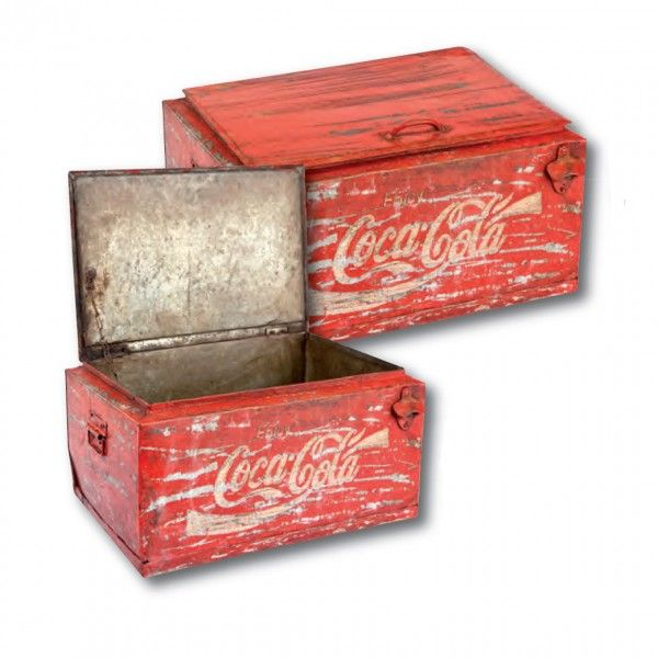 cassetta coca cola vedo e arredo arredamento vintage