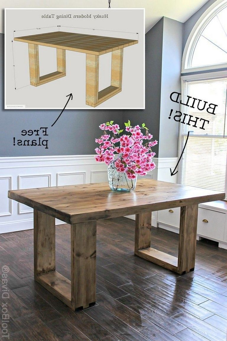 Timber Dining Table Ideas That Can Be