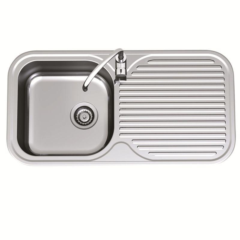 Clark 930mm Advance Single End Bowl Sink LH 1TH   Bowl sink, Clarks ...