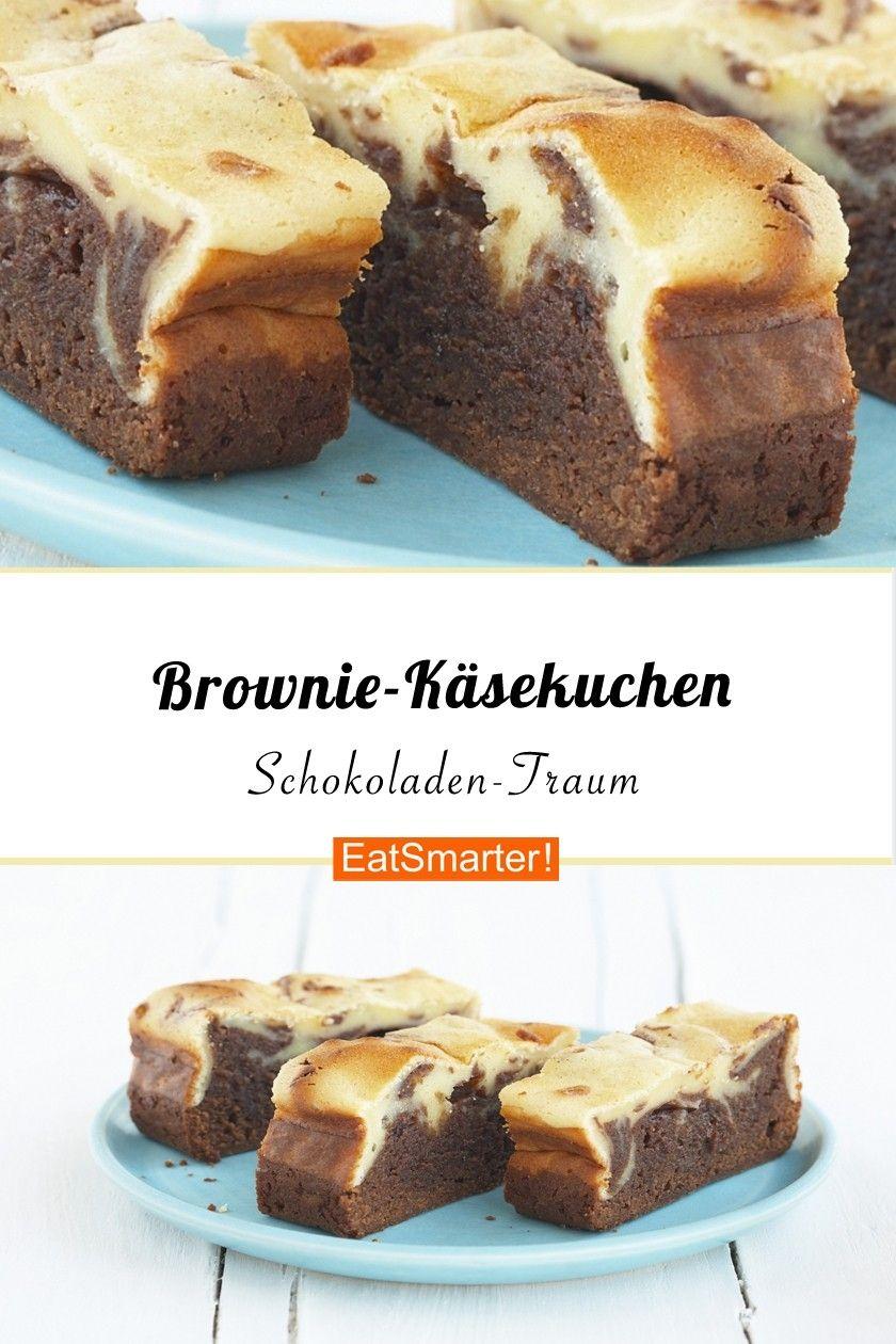 Brownie-Käsekuchen #schokokuchen