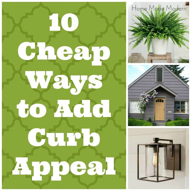 10 cheap ways to boost a builder grade s curb appeal curb appeal