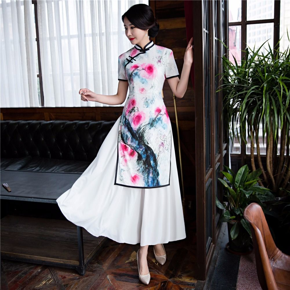 Shanghai Story Vietnam ao dai Chinese traditional clothing long ...