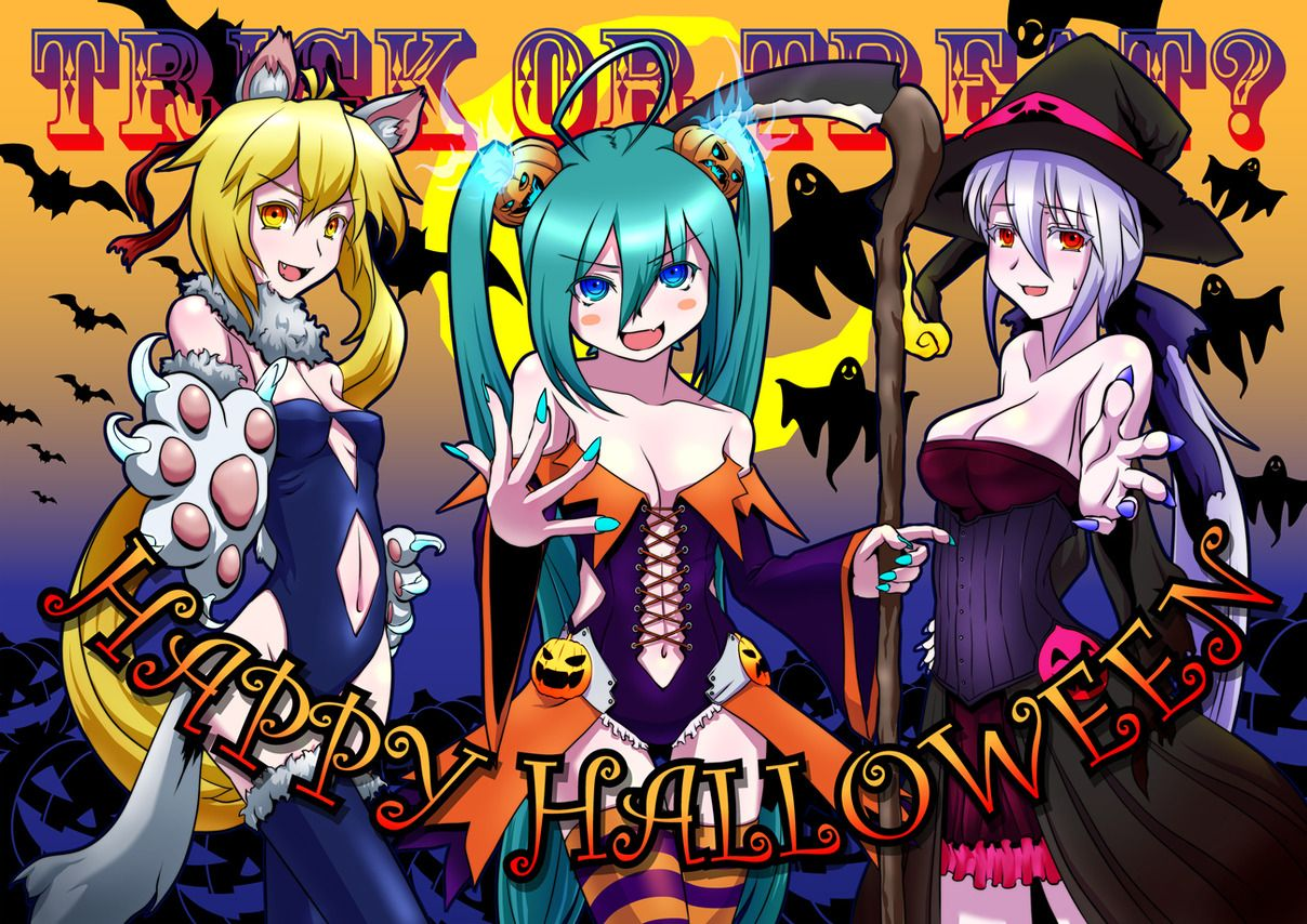 vocaloid halloween | ss5 | Pinterest | Vocaloid