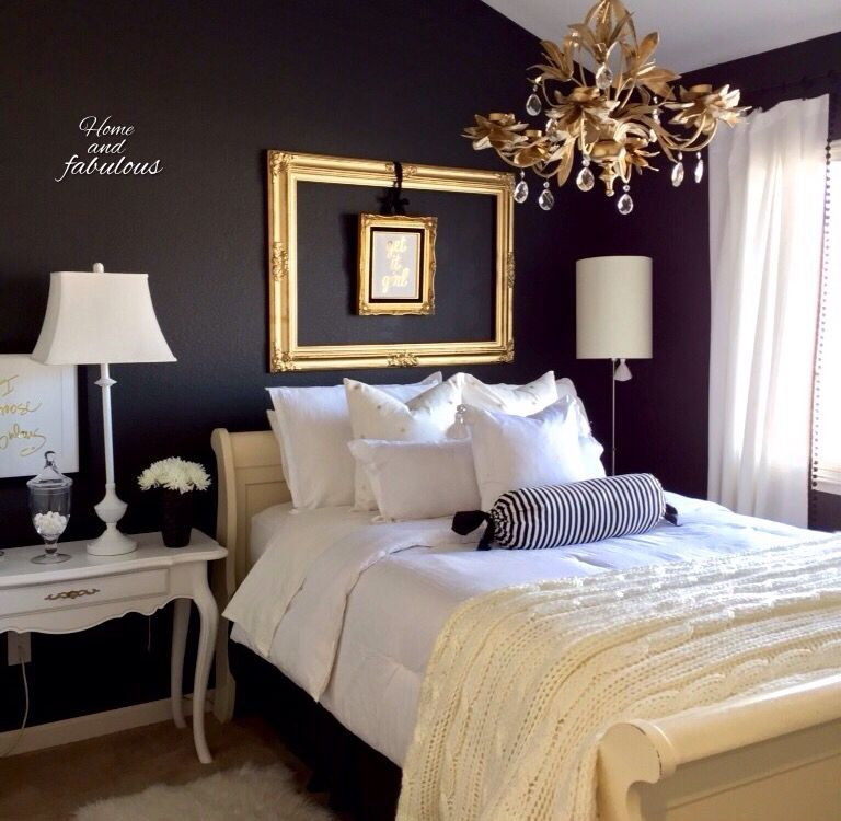 fabulous gold bedroom decorating ideas | Home and fabulous Guess bedroom design | Home, Guest ...