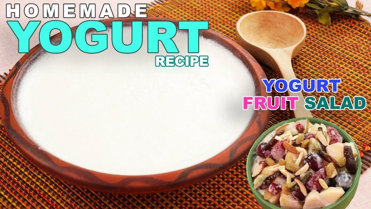 How To Make Thick Yogurt At Home Yogurt Recipe Here Is Thick Yogurt Recipe Learn How To Make Thick Yogurt At Home This Thick Yogurt Recipes Is Unique In 2020 Yogurt Recipes Homemade Yogurt Recipes