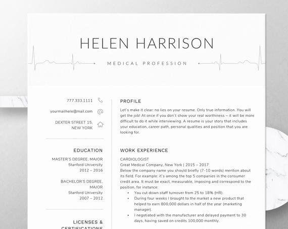 25 nursing student resume template word in 2020