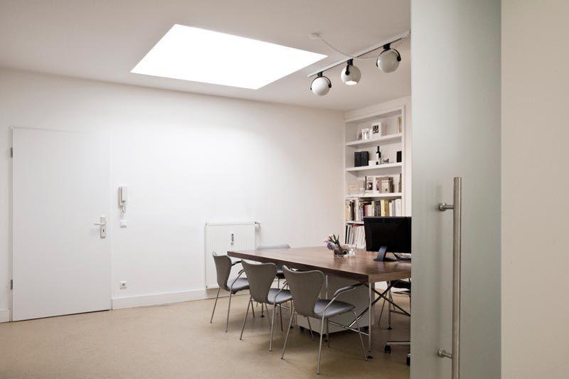 Studio: Weissraum, Hamburg, #creative #office# desk <<< repinned by www.BlickeDeeler.de