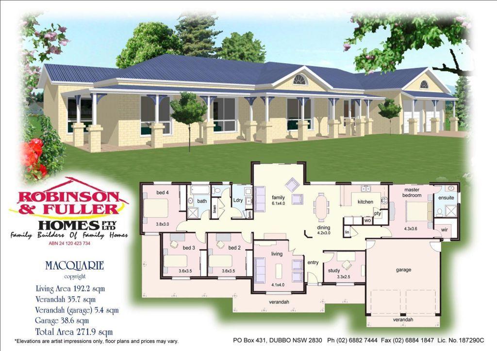 Acreage house plan Australia | Acreage Homes & Plans | Pinterest ...