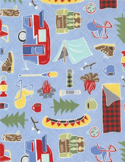 Pin by Modes4u on Kinderstoffe Camping fabric, Timeless