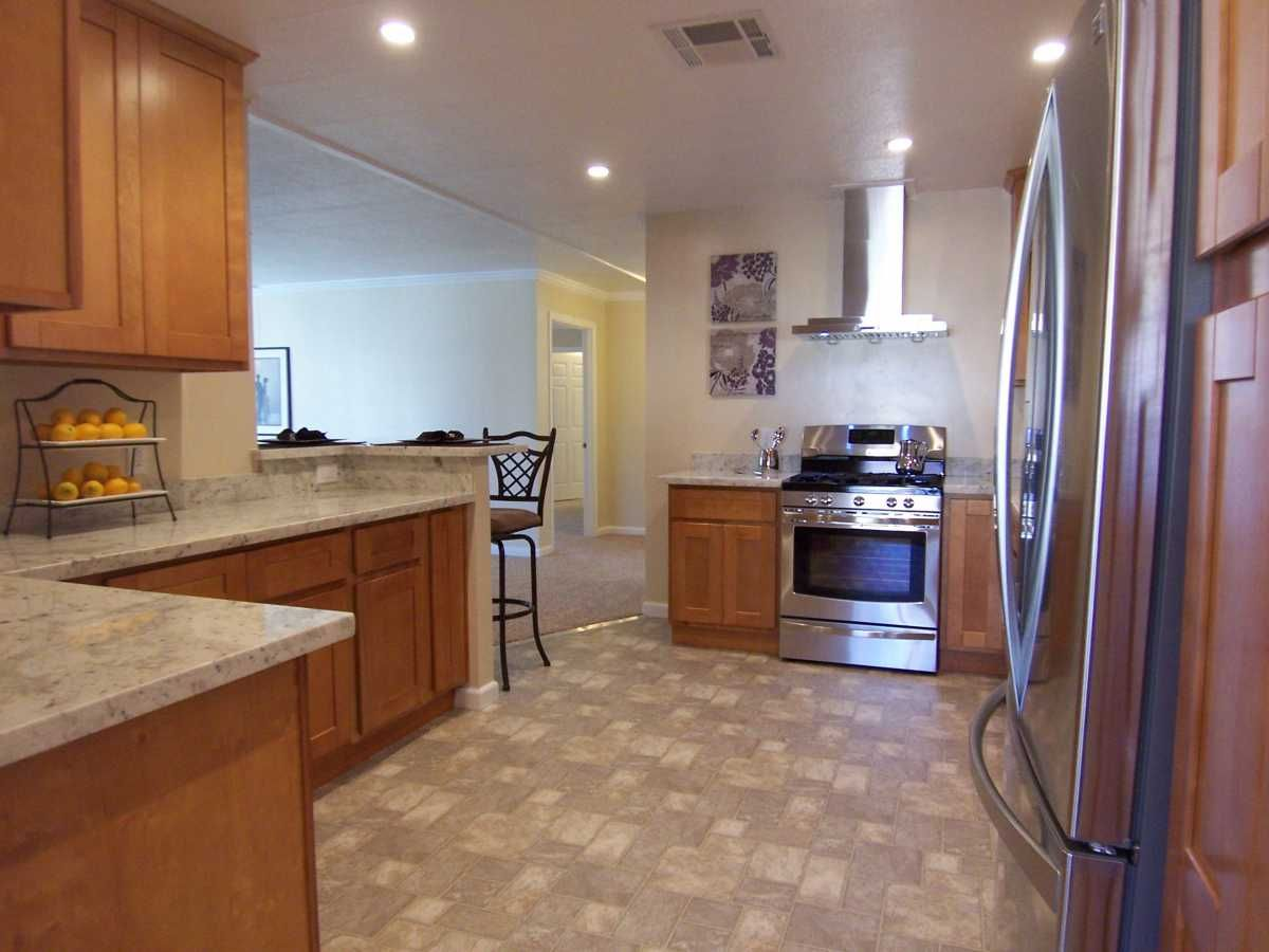 Awesome Custom Kitchen Encore Home By Arm Homes Mobile Manufactured Home In Hayward Ca Via Mhvillage Com Manufactured Home Mobile Homes For Sale Home