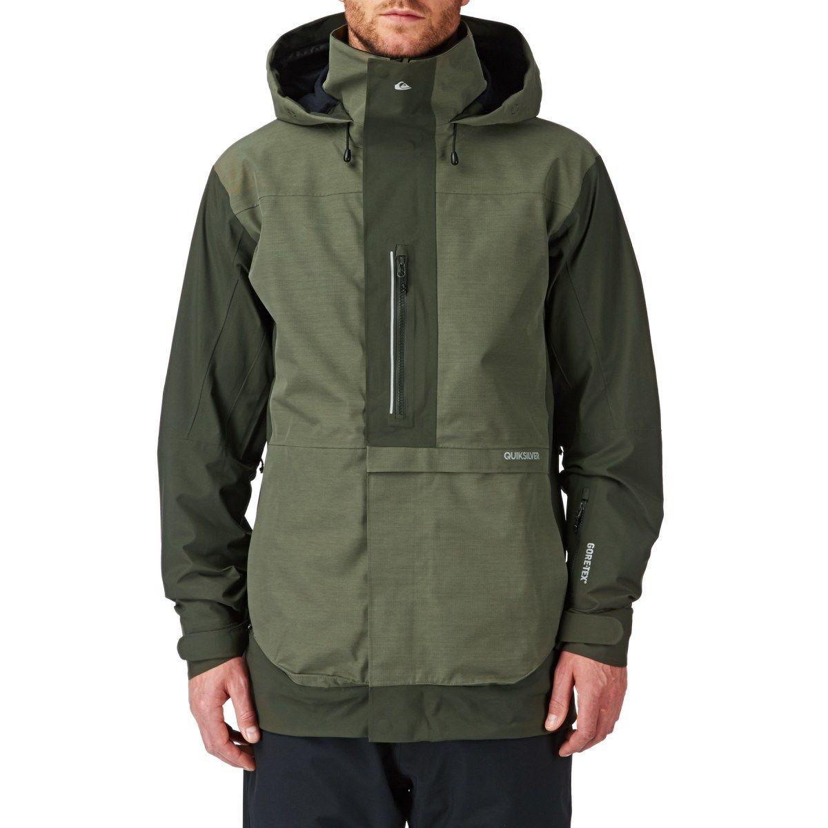 d72196dfcf9d Men s Quiksilver Snow Jackets - Quiksilver Travis Rice Exhibition 2L Snow  Jacket - Dusty Olive