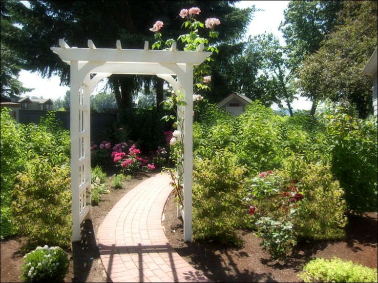 Awesome Arbor Backyard Decoration | Garden Arbor Ideas