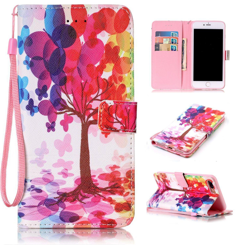 girls iphone 8 case wallet