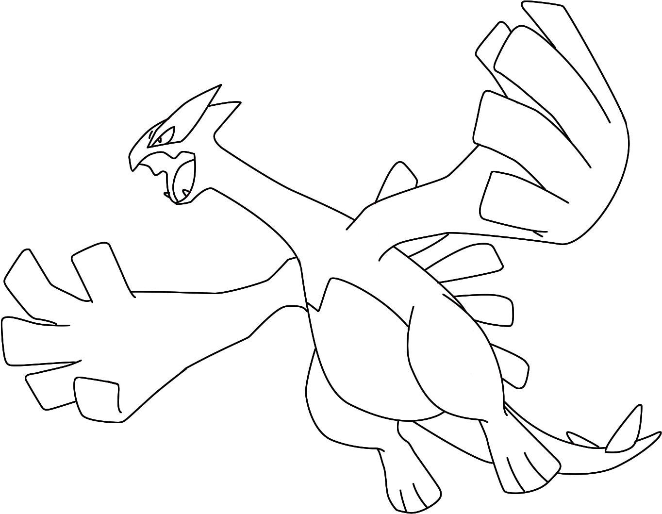 How To Draw Lugia Draw Central Pokemon Coloring Pokemon Coloring Pages Coloring Pages