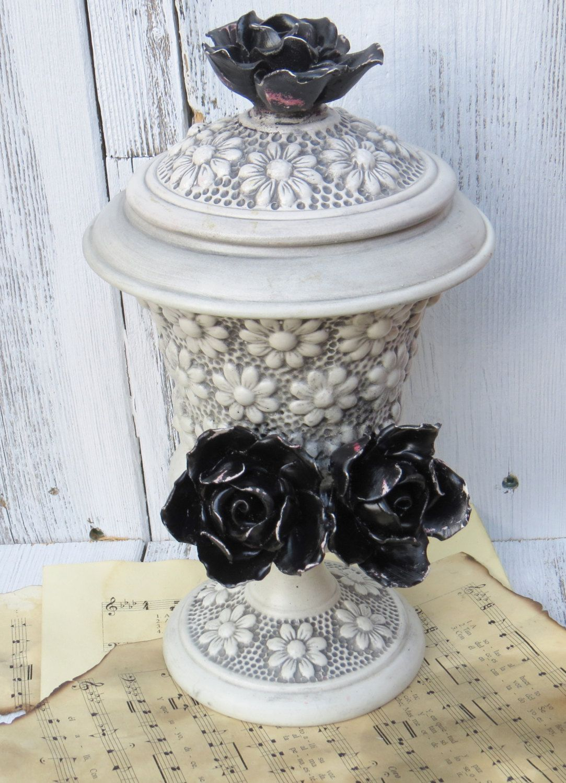 Gothic Ceramic Flower Vase