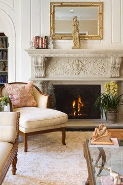 French Living Rooms Houzz