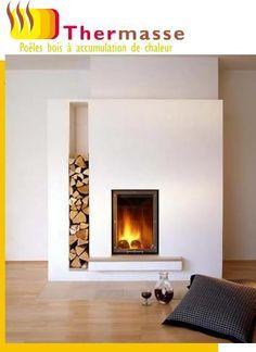 Poeles de Masse, Poêles bois à accumulation de chaleur - THERMASSE