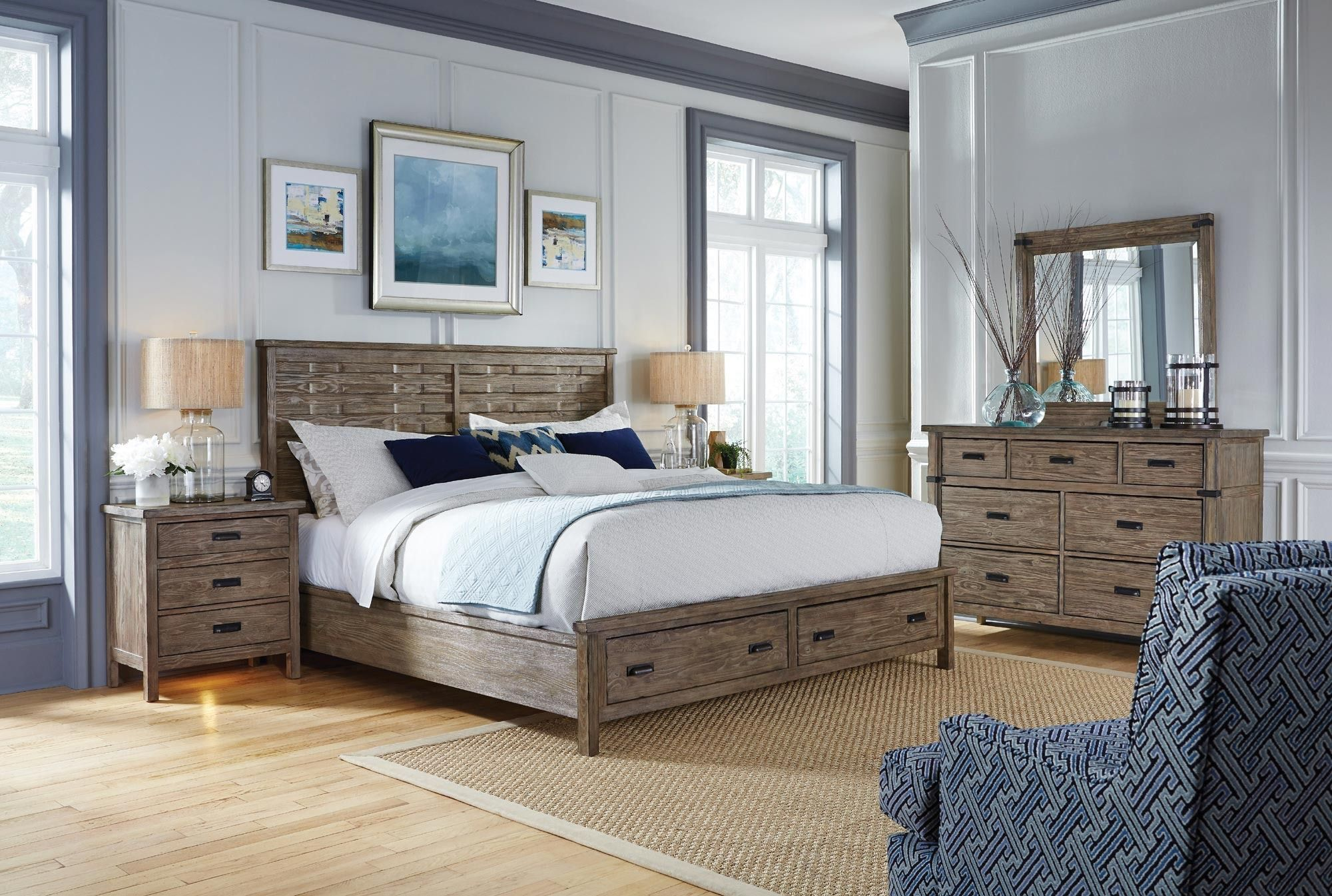 Foundry Queen Storage Bed Kincaid Home Gallery Stores
