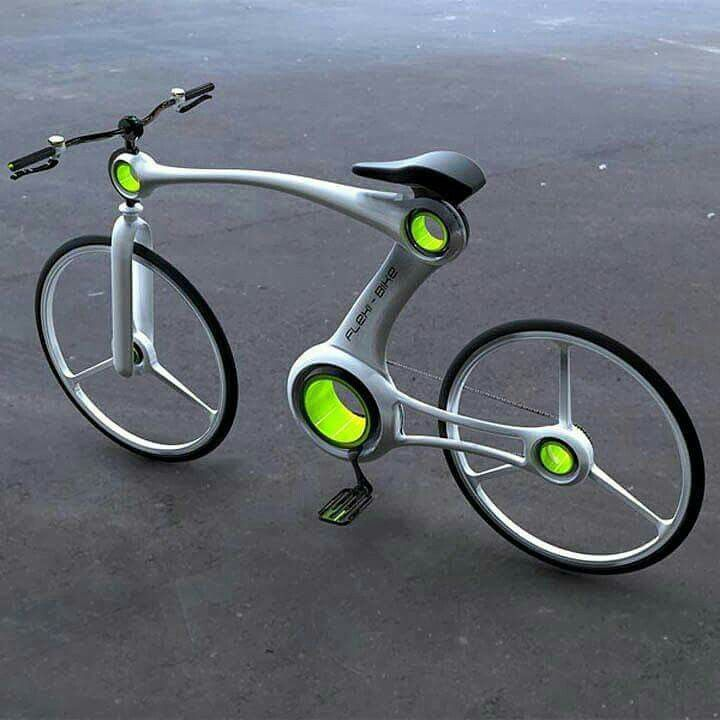 Flexi bike. Want!!