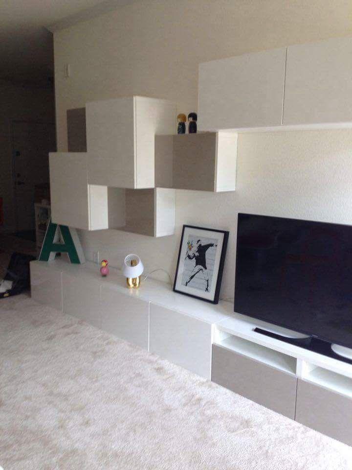 Album – 5 – Banc TV Besta Ikea, réalisations clients (série 2) – Changement de décor autour de la télé ?! Le blog générateur d'inspiration…