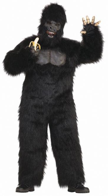 Full Body Gorilla Costume with Mask