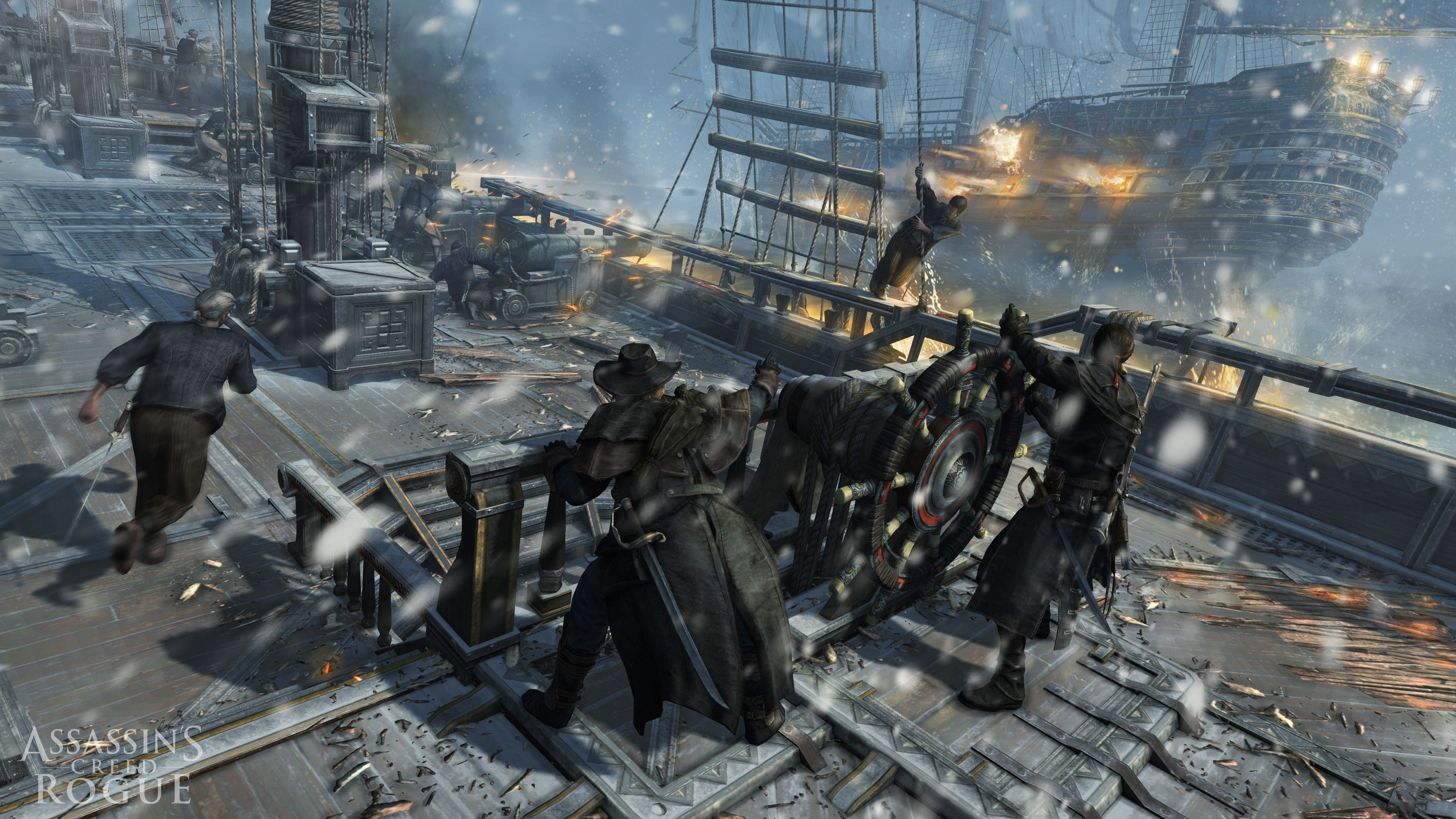 Assassin S Creed Rogue Gameplay Preview Facts 2014 Ps3 Xbox 360