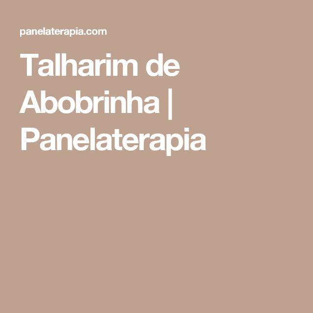 Talharim de Abobrinha | Panelaterapia