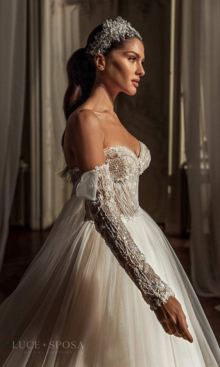 C488 A-line Wedding Dress by Allure Couture - WeddingWire