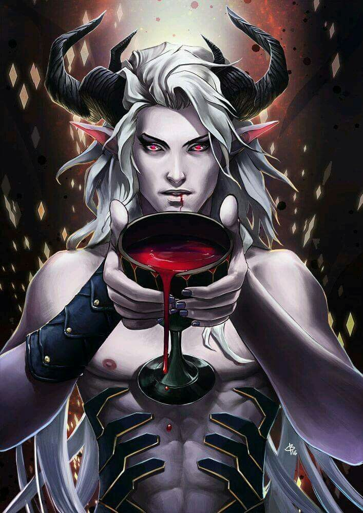 Demon Book Fantasy Art