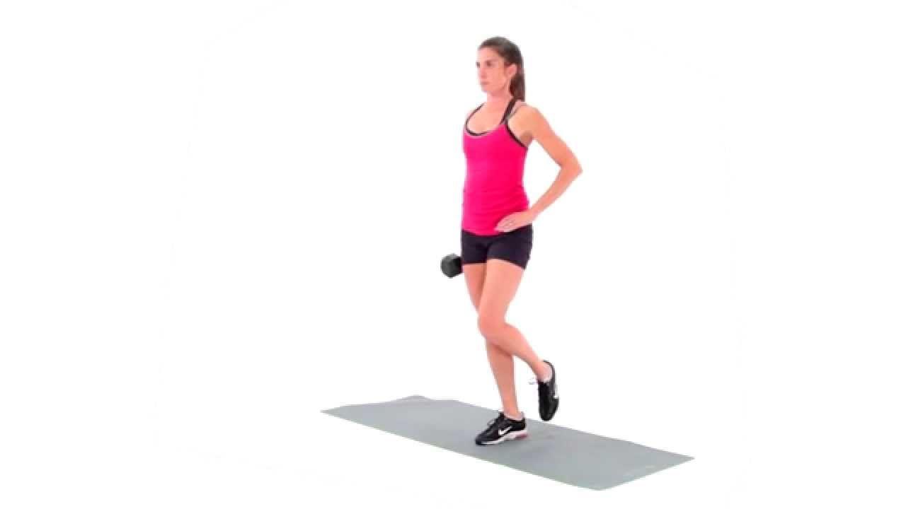 Single-Leg Standing Dumbbell Calf Raise / legs | Ejercicios, Cuerpo
