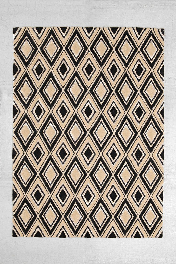 4040 Locust Diamond Tufted Rug