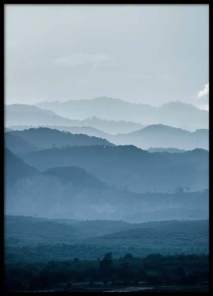 Mountain Layers Poster In The Group Posters Prints Nature At Desenio Ab 2558 Nature Prints Poster Prints Groups Poster