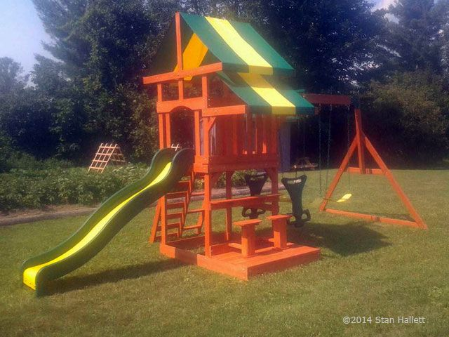 Backyard Discovery - Discoveryland | Playset, Swing set ... on Backyard Discovery Pavilion id=54790