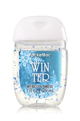 Winter Pocketbac Sanitizing Hand Gel Bath Body Works Now