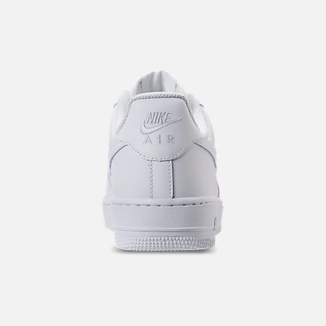 back view of men's nike air force 1 low casual shoes in