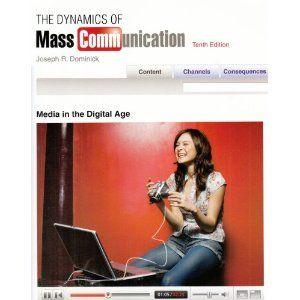 Dynamics Of Mass Communication With Mass Communication