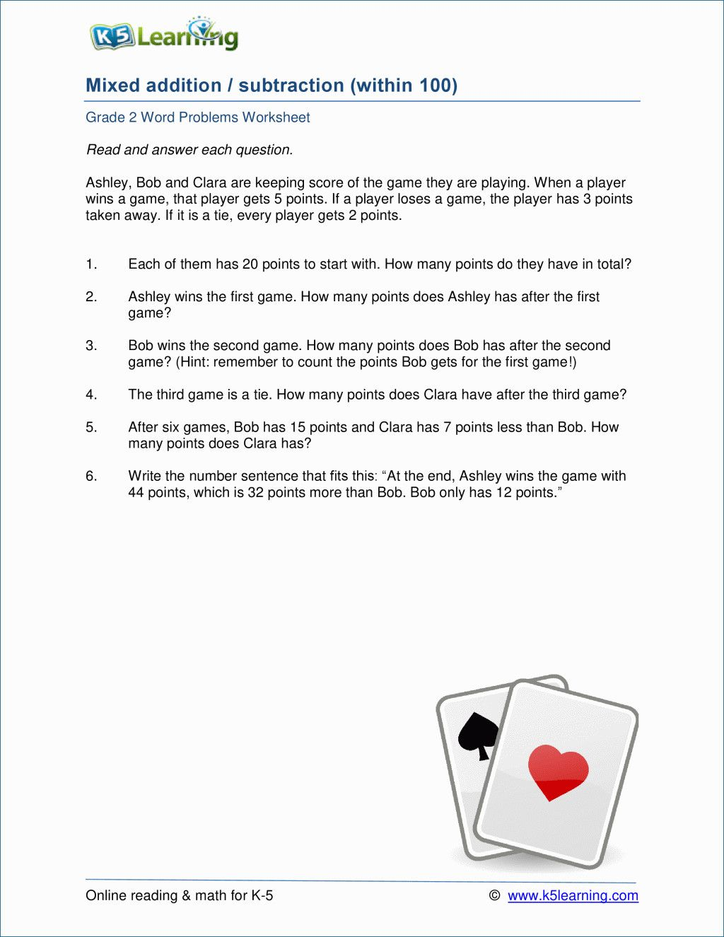 20 Worksheets Addition Word Problems 2 Simbologia