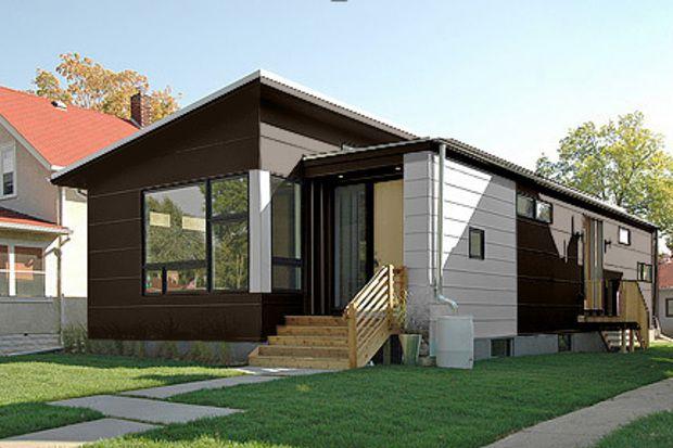 Elegante casa con estilo moderno y 2 dormitorios