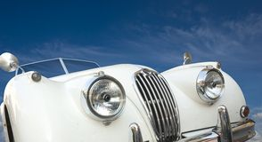 Old english car Royalty Free Stock Photography