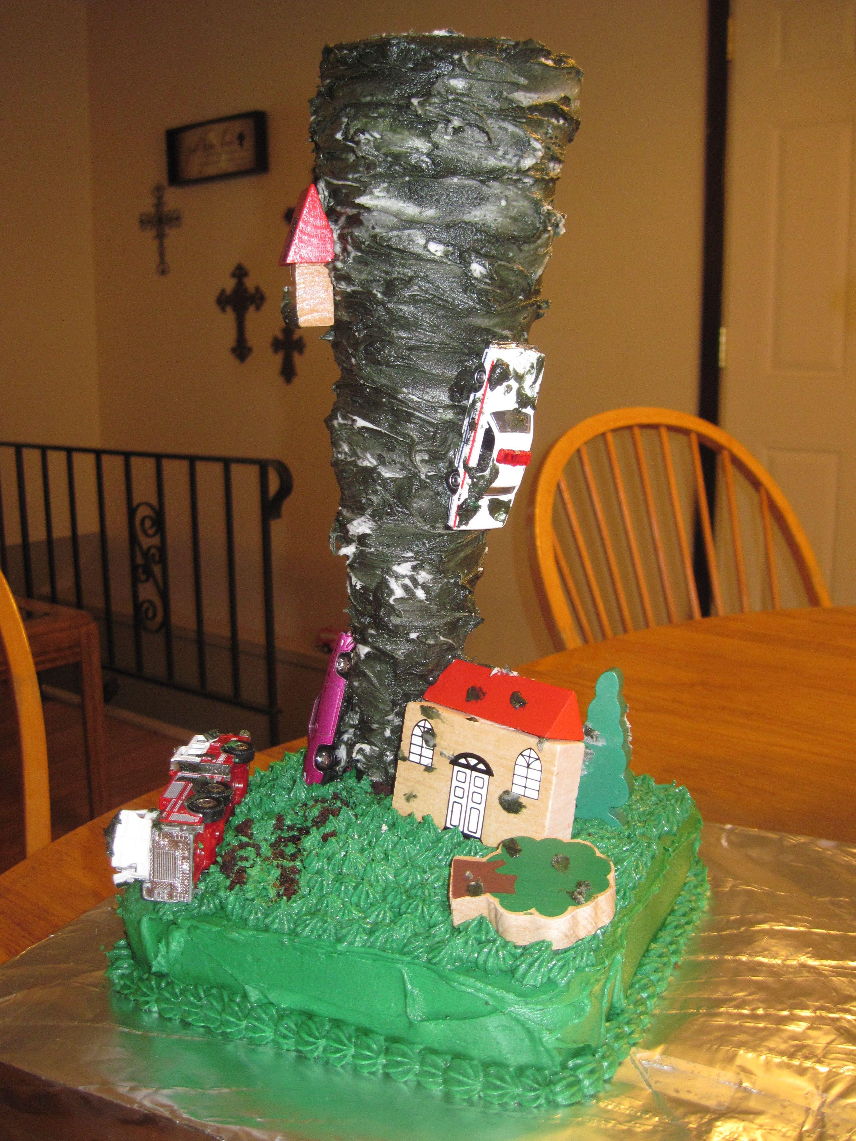 Tornado Cake Alex Pinterest