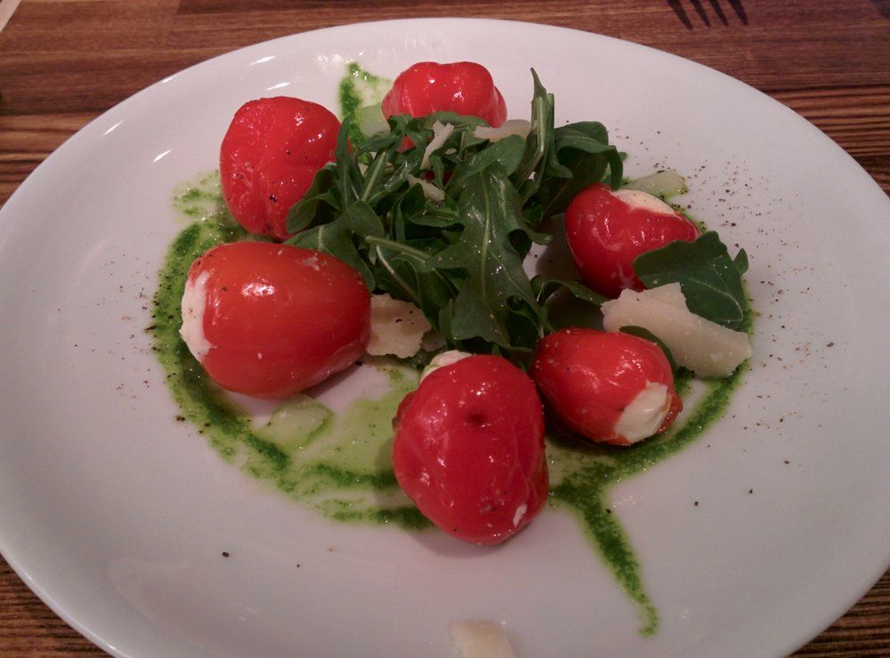Great appetizer- peppers filled with soft cheese. | Yelp