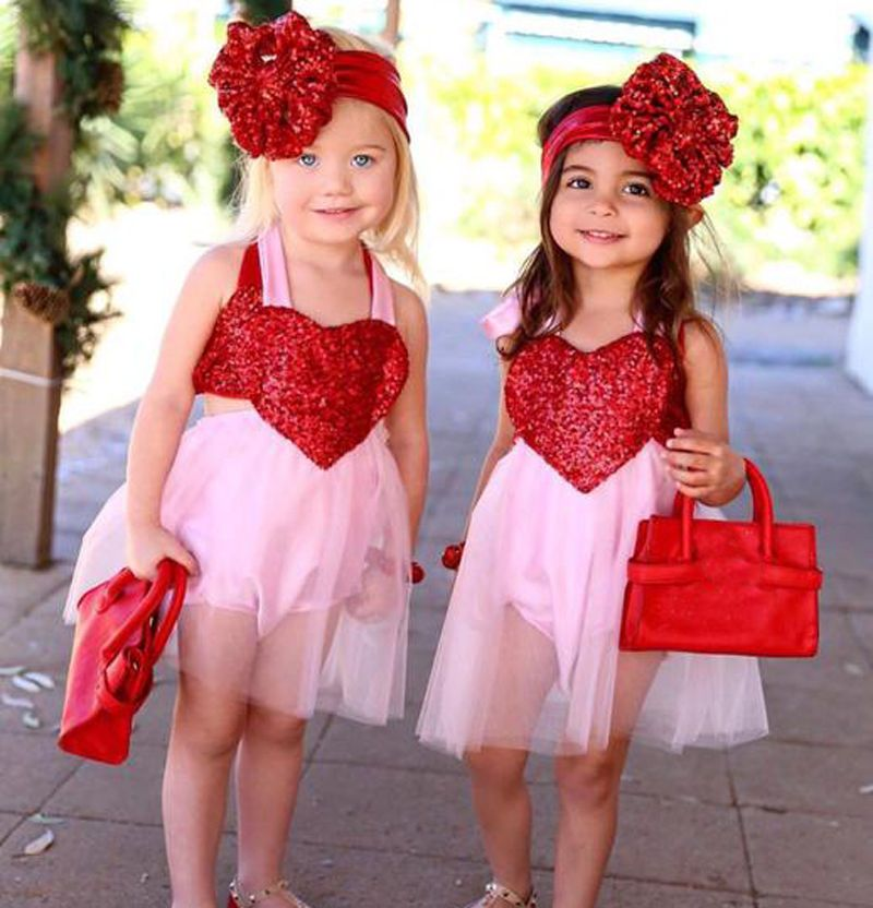 Toddler Girl Princess Dress Kids Baby Party Wedding Valentine/'s Day Tutu Dresses