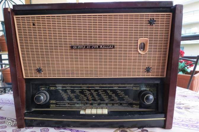 Radio Tsf Tourne Disques Vbr Decoration Alpes Maritimes Leboncoin Fr Radio Tsf Poste Radio Radios