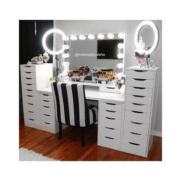Walk In Closet Dressing Table Makeup Table Vanity Glam Room Beauty Room