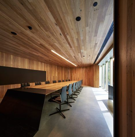 architects woods bagot s melbourne office encourages staff to