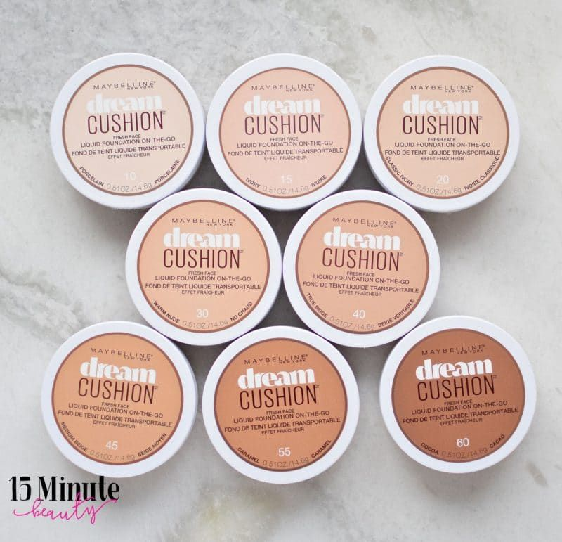 d2167c3cf20 Foundation Steal: Maybelline Dream Cushion Foundation Review - 15 Minute  Beauty Fanatic