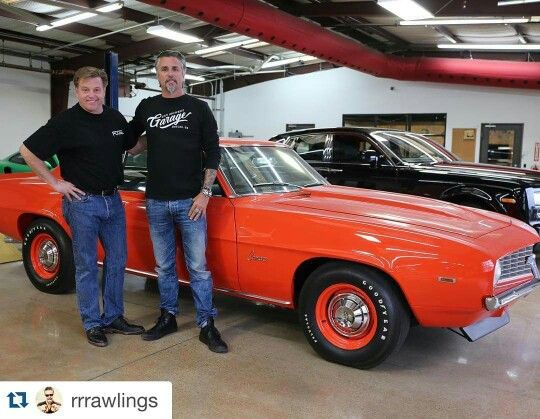 Richard Rawlings Chip Foose Gas Monkey Garage Chevy Chevelle