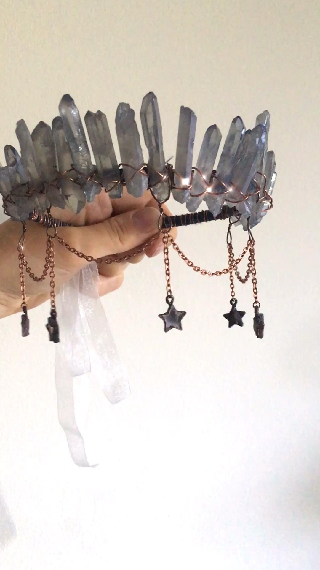 The Atlantis Crown ✵ Mermaid Crystal Crown for a B