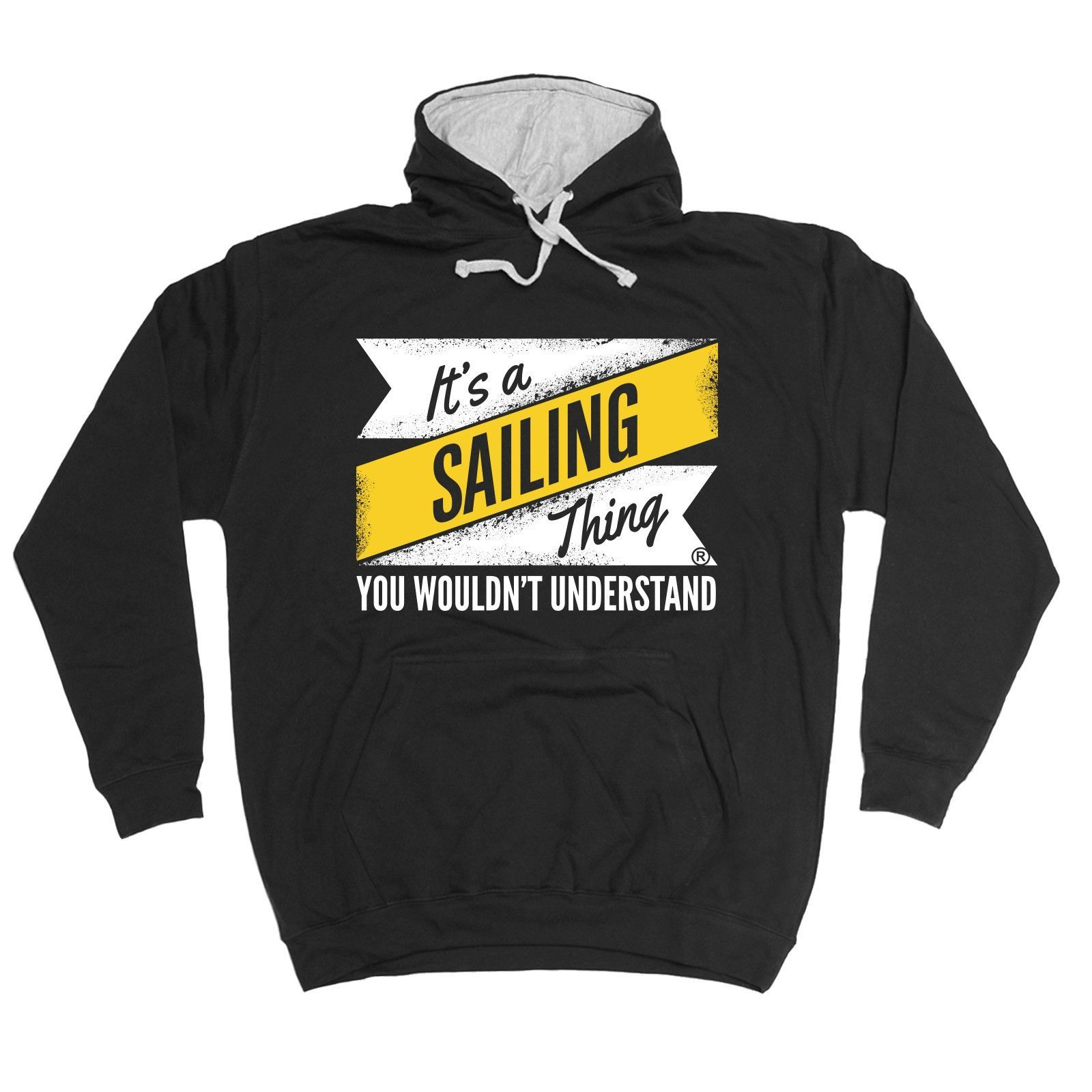 123t USA It's A Sailing Thing You Wouldn't Understand Funny Hoodie