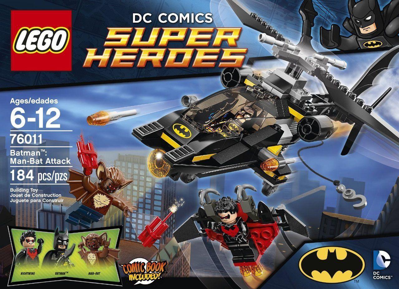 *NEW* LEGO Man-Bat Minifigure-from set 76011 Batman Robin Arkham Nightwing